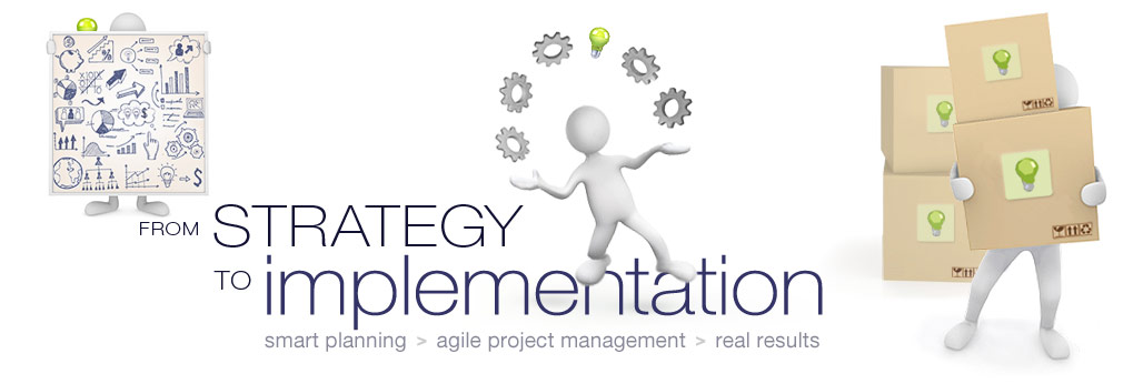 from business strategy to project implementation